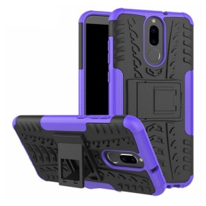 Protection Antichoc Type Otterbox Violet Pour Huawei Mate 10 Lite