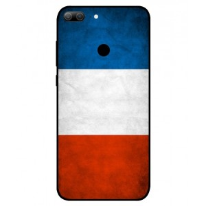 Coque De Protection Drapeau De La France Pour Huawei Honor 9 Lite