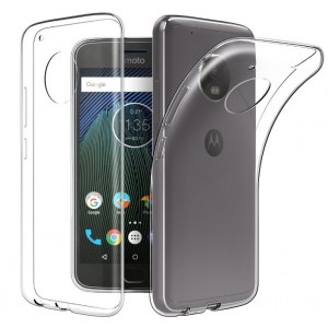 Coque De Protection En Silicone Transparent Pour Motorola Moto C Plus