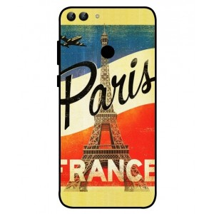 Coque De Protection Paris Vintage Pour Huawei P Smart