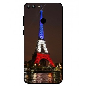 Coque De Protection Tour Eiffel Couleurs France Pour Huawei P Smart
