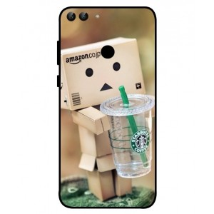 Coque De Protection Amazon Starbucks Pour Huawei P Smart