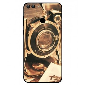 Coque De Protection Appareil Photo Vintage Pour Huawei P Smart
