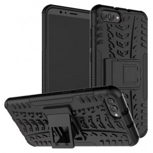 Protection Solide Type Otterbox Noir Pour Huawei Honor View 10