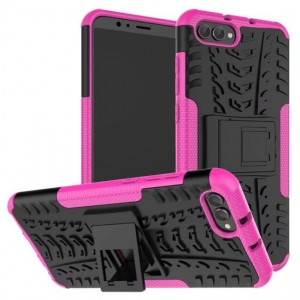 Protection Antichoc Type Otterbox Rose Pour Huawei Honor View 10