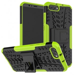 Protection Antichoc Type Otterbox Vert Pour Huawei Honor View 10