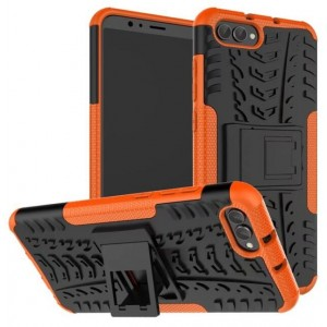 Protection Antichoc Type Otterbox Orange Pour Huawei Honor View 10