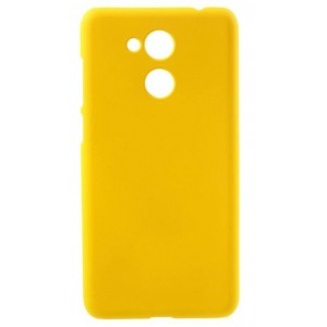 Coque De Protection Rigide Jaune Pour Huawei Honor V9 Play