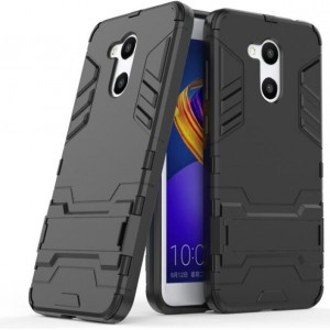 Protection Solide Type Otterbox Noir Pour Huawei Honor V9 Play