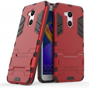 Protection Antichoc Type Otterbox Rouge Pour Huawei Honor V9 Play