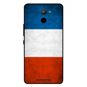 Coque De Protection Drapeau De La France Pour BQ Aquaris U Plus