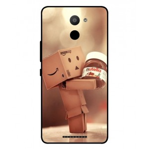 Coque De Protection Amazon Nutella Pour BQ Aquaris U Plus