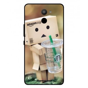 Coque De Protection Amazon Starbucks Pour BQ Aquaris U Plus