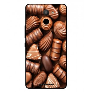 Coque De Protection Chocolat Pour BQ Aquaris U Plus