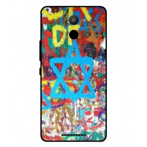 Coque De Protection Graffiti Tel-Aviv Pour BQ Aquaris U Plus