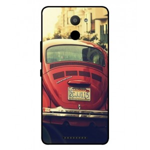 Coque De Protection Voiture Beetle Vintage BQ Aquaris U Plus