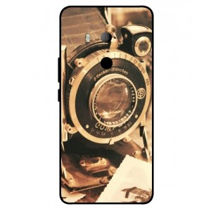 Coque De Protection Appareil Photo Vintage Pour HTC U11 Eyes