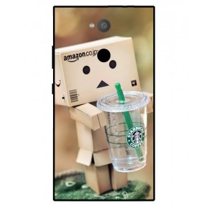 Coque De Protection Amazon Starbucks Pour Sony Xperia L2