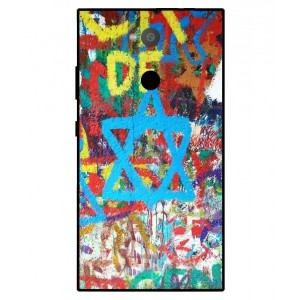 Coque De Protection Graffiti Tel-Aviv Pour Sony Xperia L2