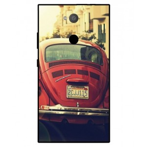 Coque De Protection Voiture Beetle Vintage Sony Xperia L2