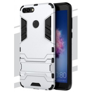 Protection Antichoc Type Otterbox Argent Pour Huawei P Smart