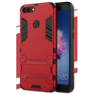 Protection Antichoc Type Otterbox Rouge Pour Huawei P Smart