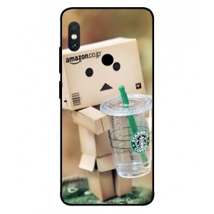 Coque De Protection Amazon Starbucks Pour Xiaomi Redmi Note 5 Pro