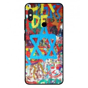 Coque De Protection Graffiti Tel-Aviv Pour Xiaomi Redmi Note 5 Pro