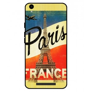 Coque De Protection Paris Vintage Pour Archos Core 55 4G