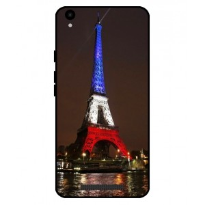 Coque De Protection Tour Eiffel Couleurs France Pour Archos Core 55 4G