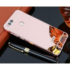 Protection Bumper Rose Pour Huawei Honor 7X