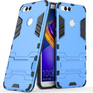 Protection Antichoc Type Otterbox Bleu Pour Huawei Honor 7X