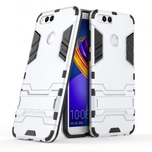 Protection Antichoc Type Otterbox Blanc Pour Huawei Honor 7X