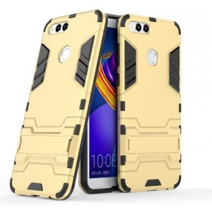 Protection Antichoc Type Otterbox Or Pour Huawei Honor 7X
