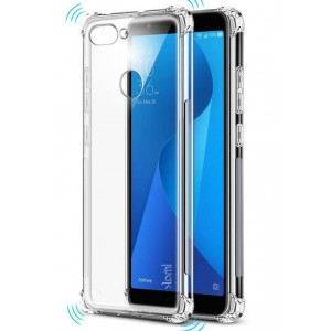 Coque De Protection En Silicone Transparent Pour Asus Zenfone Max Plus M1