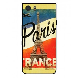 Coque De Protection Paris Vintage Pour Blackberry KeyOne