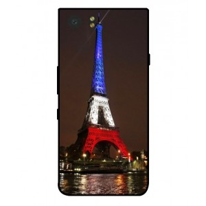 Coque De Protection Tour Eiffel Couleurs France Pour Blackberry KeyOne