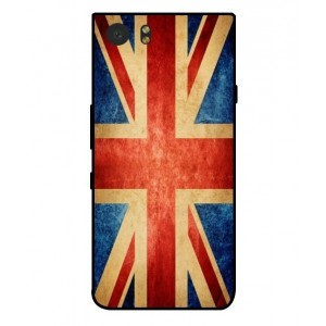 Coque De Protection Drapeau Vintage Royaume Uni Pour Blackberry KeyOne