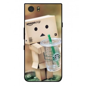 Coque De Protection Amazon Starbucks Pour Blackberry KeyOne