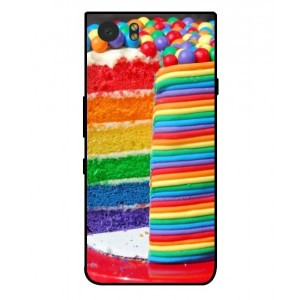 Coque De Protection Gâteau Multicolore Pour Blackberry KeyOne
