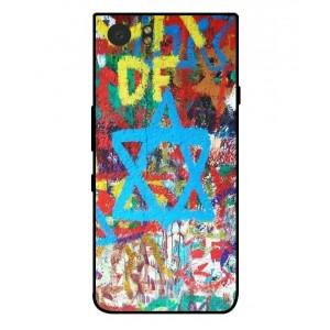 Coque De Protection Graffiti Tel-Aviv Pour Blackberry KeyOne
