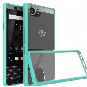 Protection Bumper Bleu Pour Blackberry KeyOne