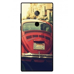 Coque De Protection Voiture Beetle Vintage Alcatel 5