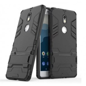 Protection Solide Type Otterbox Noir Pour Nokia 7