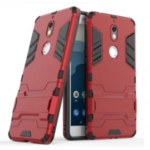 Protection Antichoc Type Otterbox Rouge Pour Nokia 7
