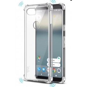 Coque De Protection En Silicone Transparent Pour Google Pixel 2