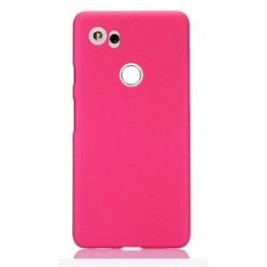 Coque De Protection Rigide Rose Pour Google Pixel 2