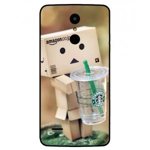 Coque De Protection Amazon Starbucks Pour LG K8 2017 Dual SIM