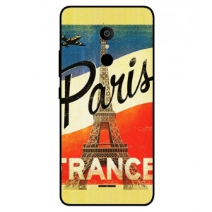 Coque De Protection Paris Vintage Pour Alcatel 3c