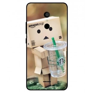 Coque De Protection Amazon Starbucks Pour Alcatel 3c